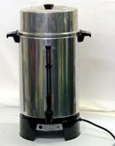 100-cup coffee percolator